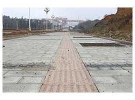 岑溪红盲道砖案例