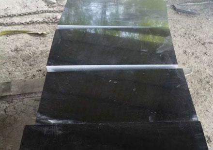 中国黑光面成品板