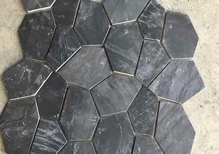 汇丰易县黑庭院石板
