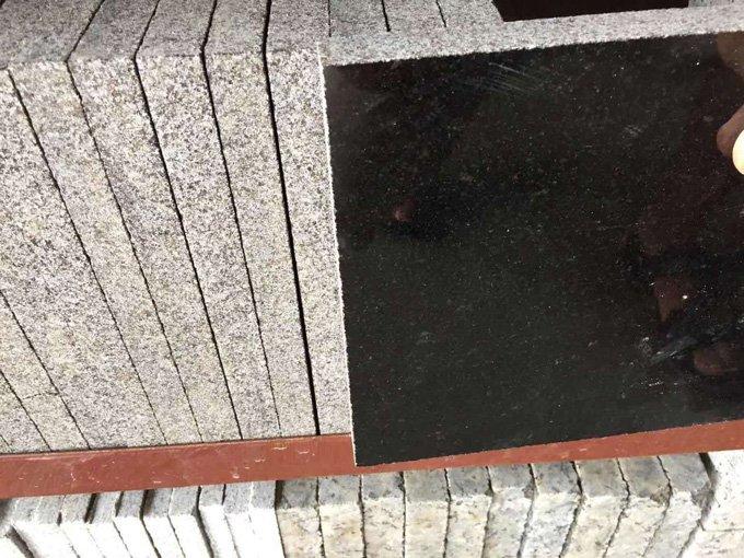 双林石业-四川黑光面方形板
