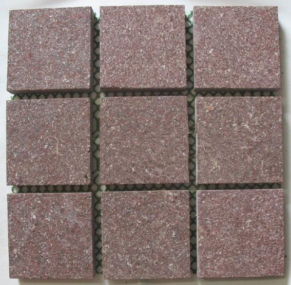 猪肝红石材