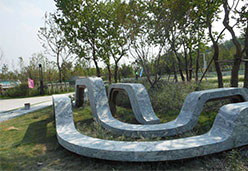 浪淘沙艺术石凳