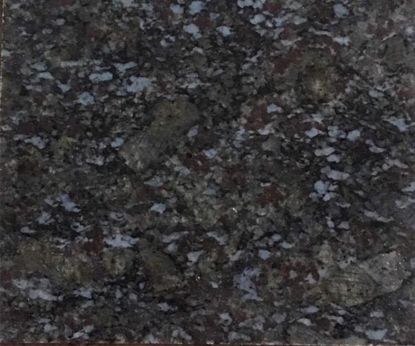通体发黑反光的蝴蝶兰石板