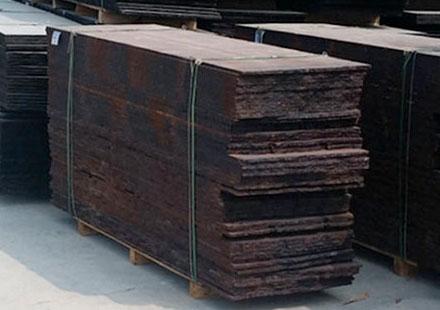 长方形古典棕石板