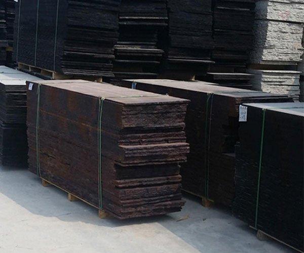 长方形古典棕石板4