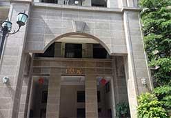 古典棕石板装修单元楼