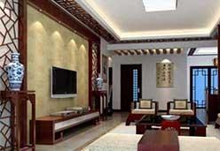 古典棕电视墙装饰板