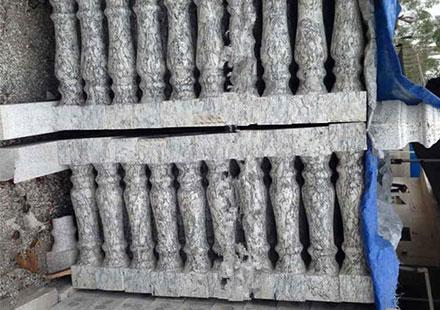 懒人最喜欢的资江白石护栏