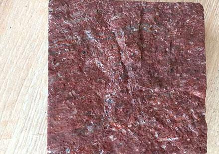 汇丰石材厂最新款福寿红马蹄石