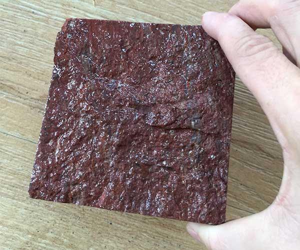 汇丰石材厂最新款福寿红马蹄石2