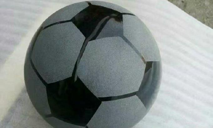 山西黑足球-石材材质