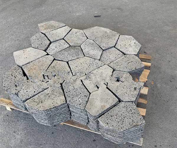 火山岩黑洞石2020年冰裂纹款式1