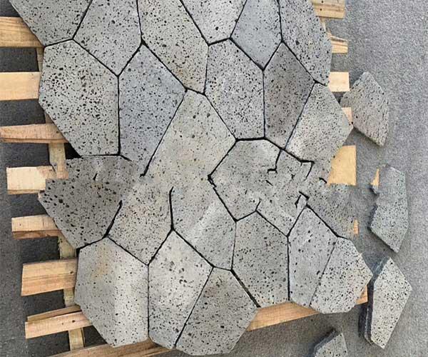 火山岩黑洞石2020年冰裂纹款式3