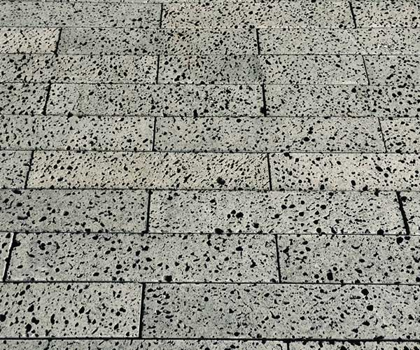 火山岩黑洞石筑非承重墙砖块3