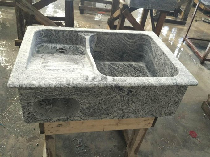 浪淘沙石材洗衣池