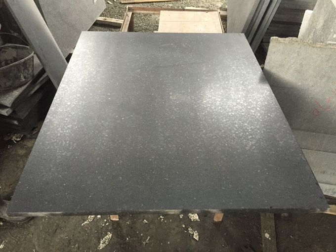 福鼎黑哑光面加工工艺-长方形板材