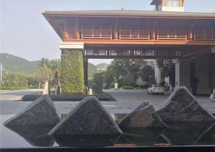 批发定制庭院优质自然风景石