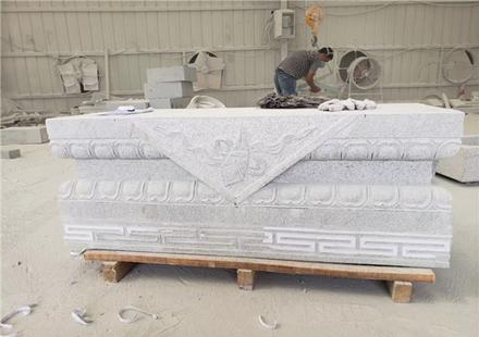 各类河南芝麻白石雕产品加工