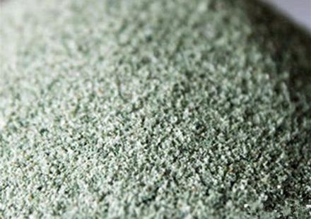 天然墨绿色彩砂,品质精良